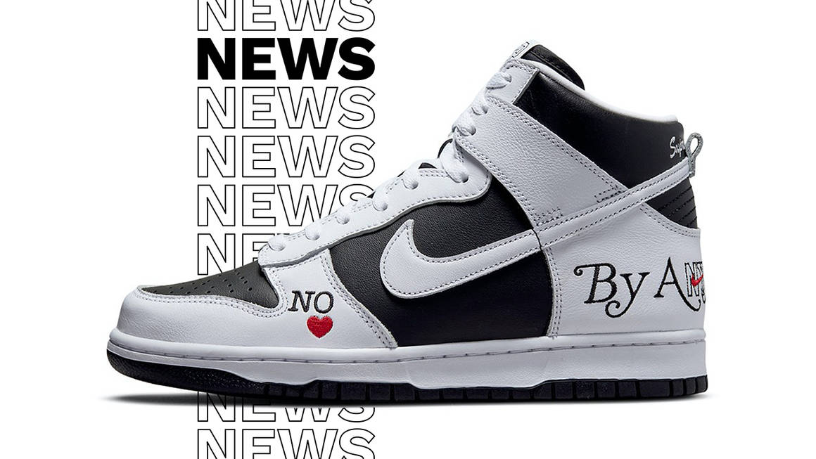 supreme nike sb by any means news