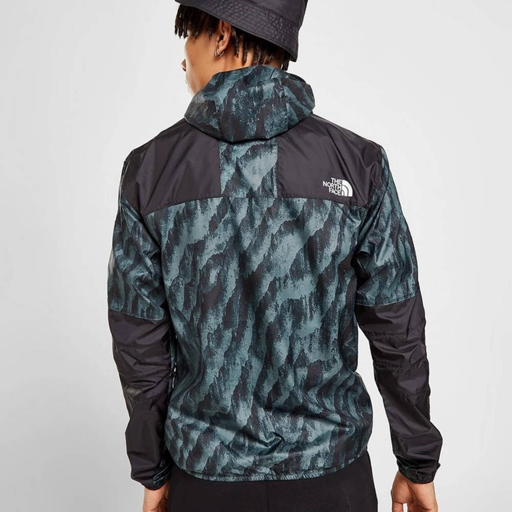 The North Face 1985 Marble Jacket Blue Back
