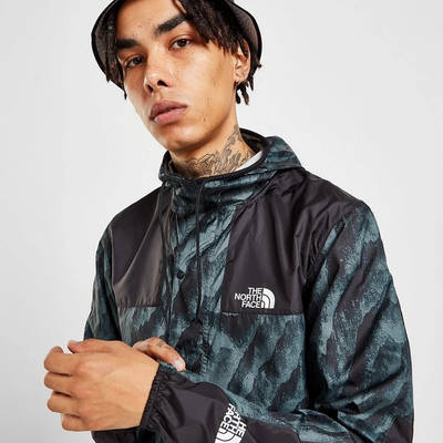 The North Face 1985 Marble Jacket Blue Detail