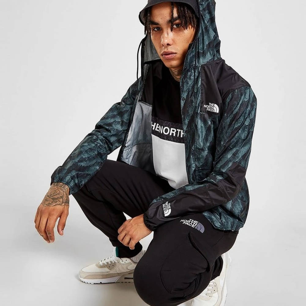 The North Face 1985 Marble Jacket Blue Full