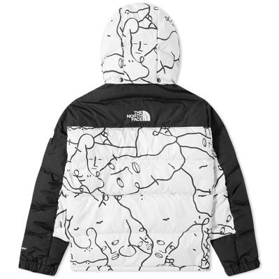The North Face AW21 Himalayan Down Parka White Back