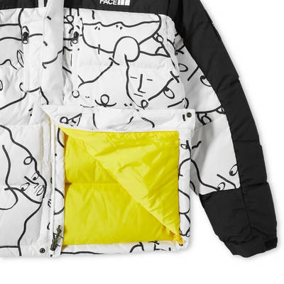 The North Face AW21 Himalayan Down Parka White Detail