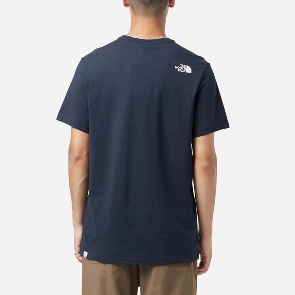 The North Face Berkeley Pocket T-Shirt Navy Back