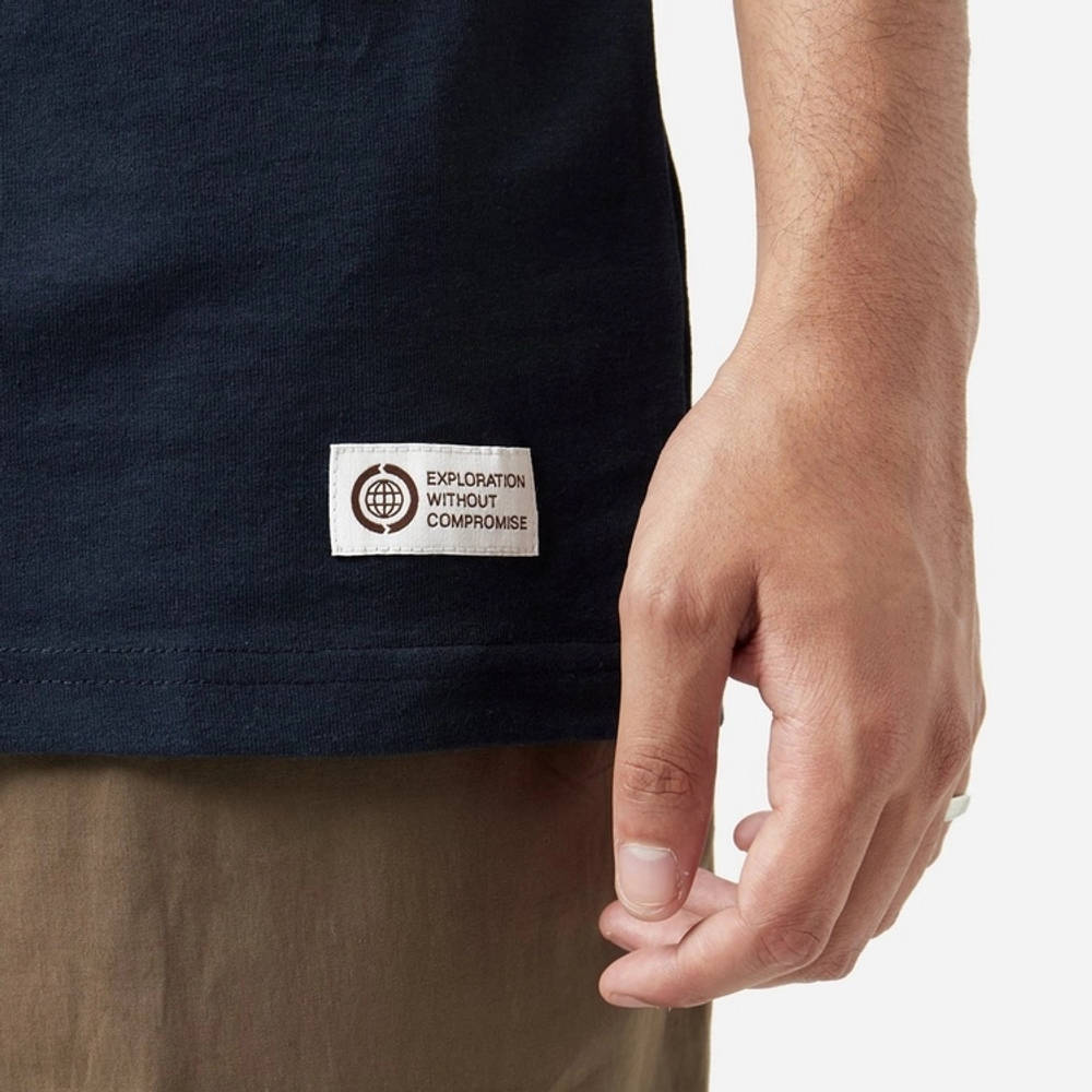 The North Face Berkeley Pocket T-Shirt Navy Detail 2