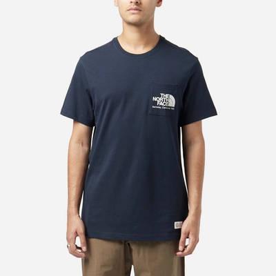 The North Face Berkeley Pocket T-Shirt Navy Front