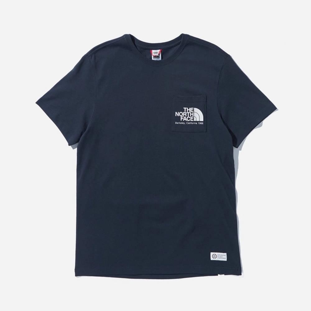 The North Face Berkeley Pocket T-Shirt Navy
