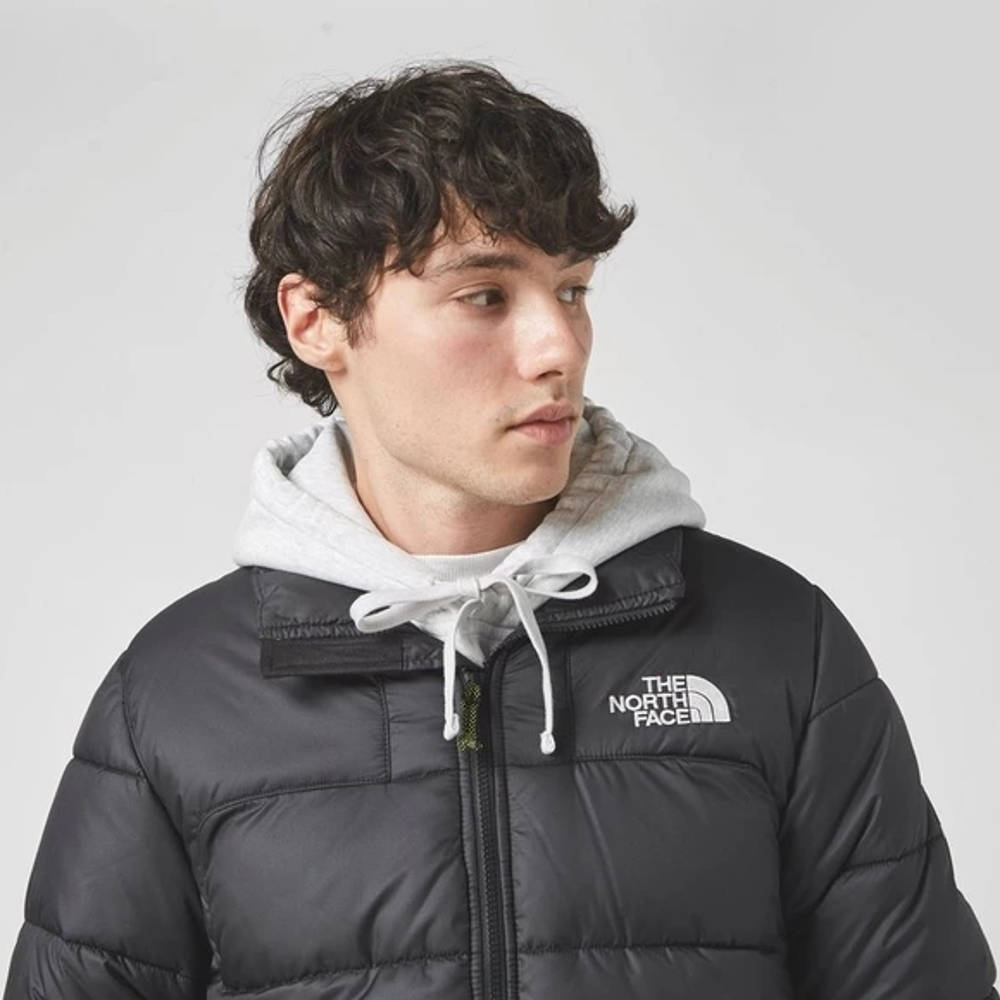 The North Face Black Box Search & Rescue Synth Down Jacket Black Detail