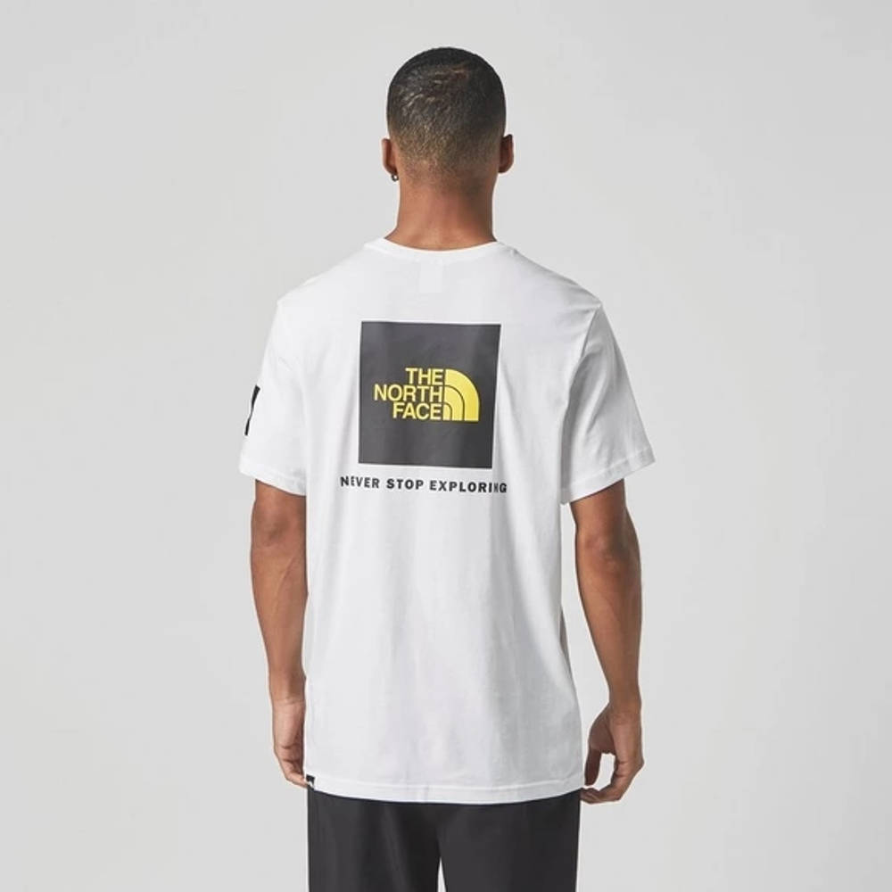 The North Face Black Box Search T-Shirt White