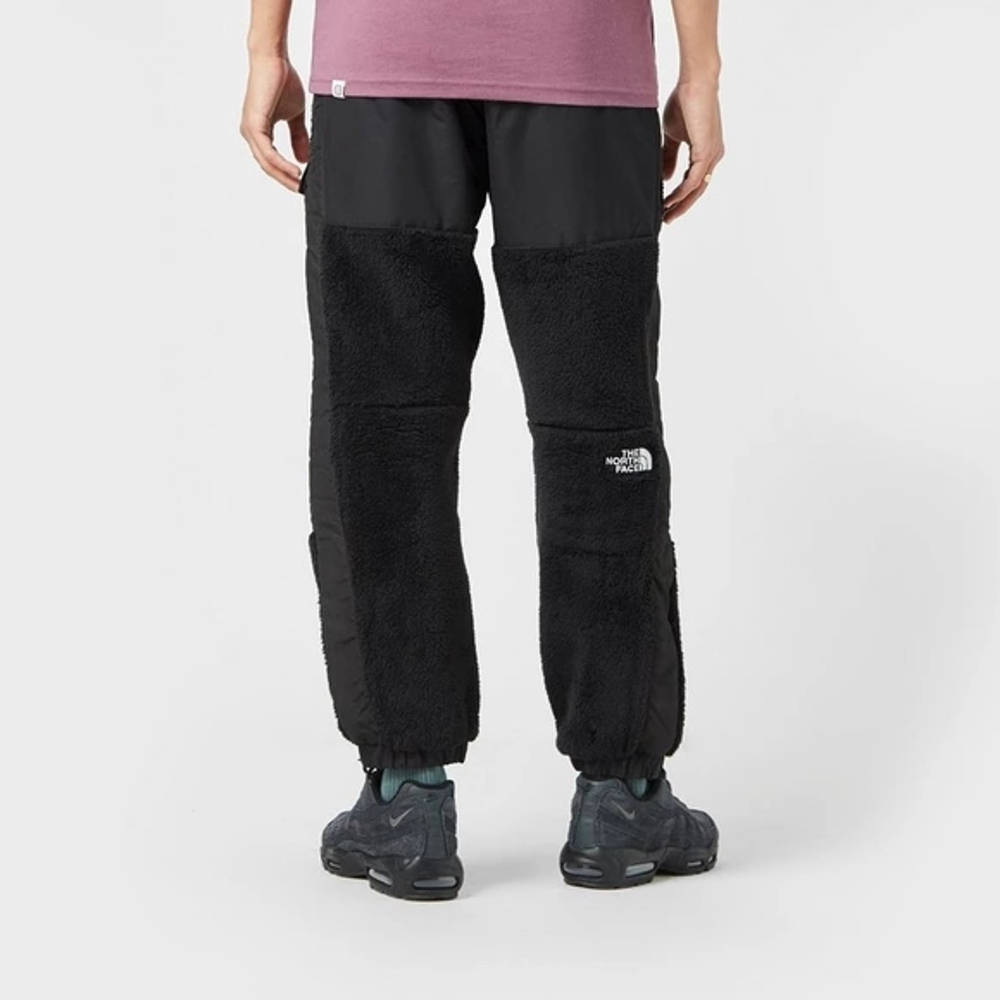 The North Face Black Box Sherpa Pants Black Back