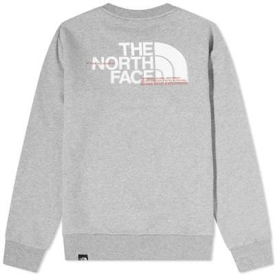 The North Face Coordinates Crew Sweatshirt Back