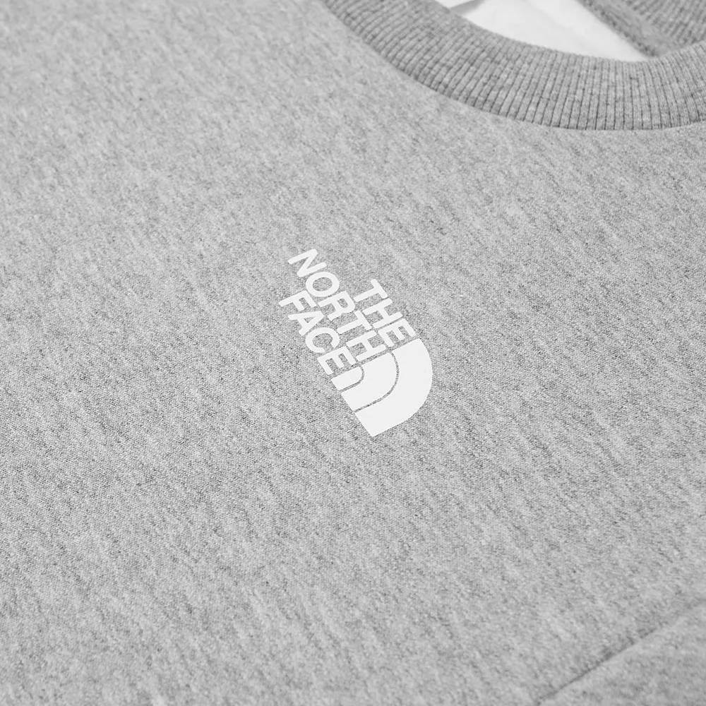 The North Face Coordinates Crew Sweatshirt Detail