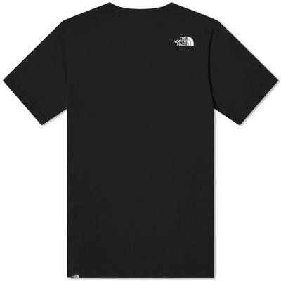 The North Face Coordinates T-Shirt Black Back