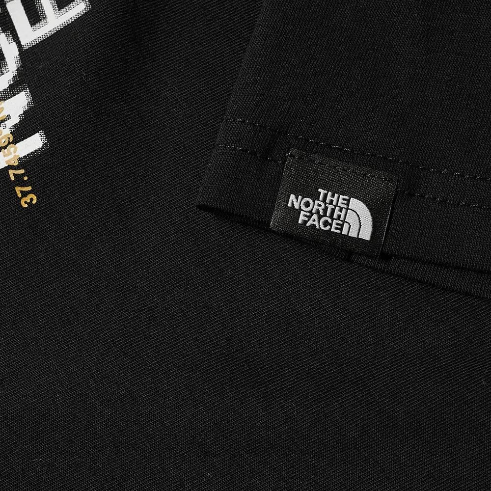The North Face Coordinates T-Shirt Black Detail 2