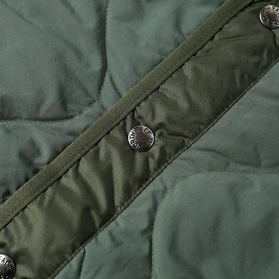 The North Face M66 Down Liner Jacket Laurel Wreath Green Detail 2