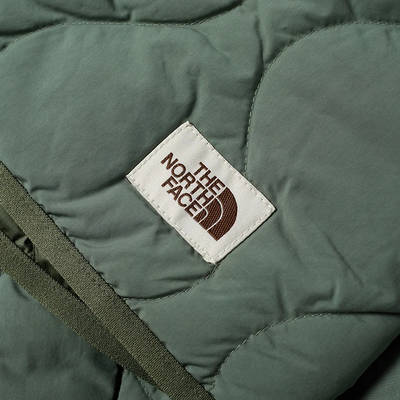 The North Face M66 Down Liner Jacket Laurel Wreath Green Detail 3