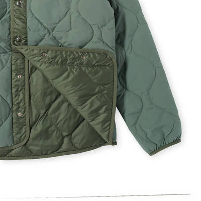 The North Face M66 Down Liner Jacket Laurel Wreath Green Detail