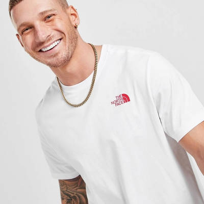 The North Face Map T-Shirt White Detail