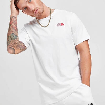 The North Face Map T-Shirt White Front
