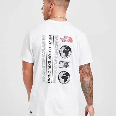 The North Face Map T-Shirt White