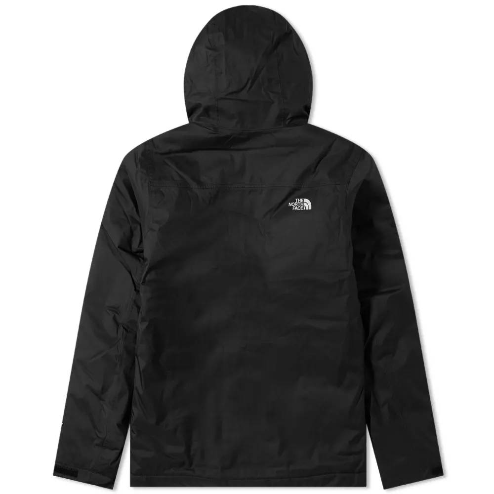The North Face Millerton Insulated Jacket Black Back