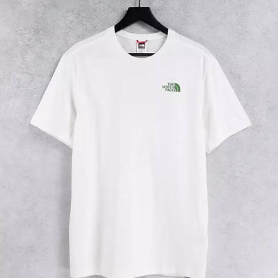 The North Face Mountain Outline T-Shirt White