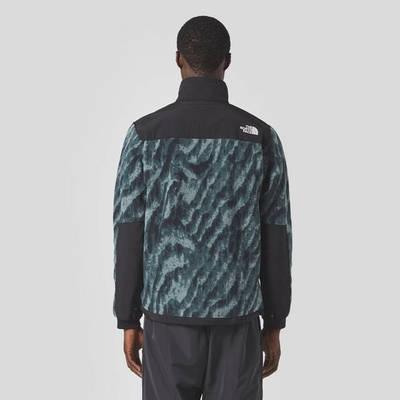 The North Face Print Denali 2 Jacket Black Back