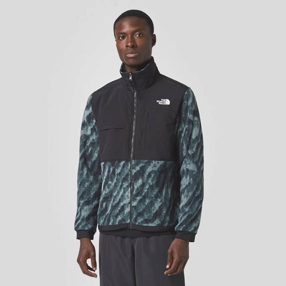 The North Face Print Denali 2 Jacket Black