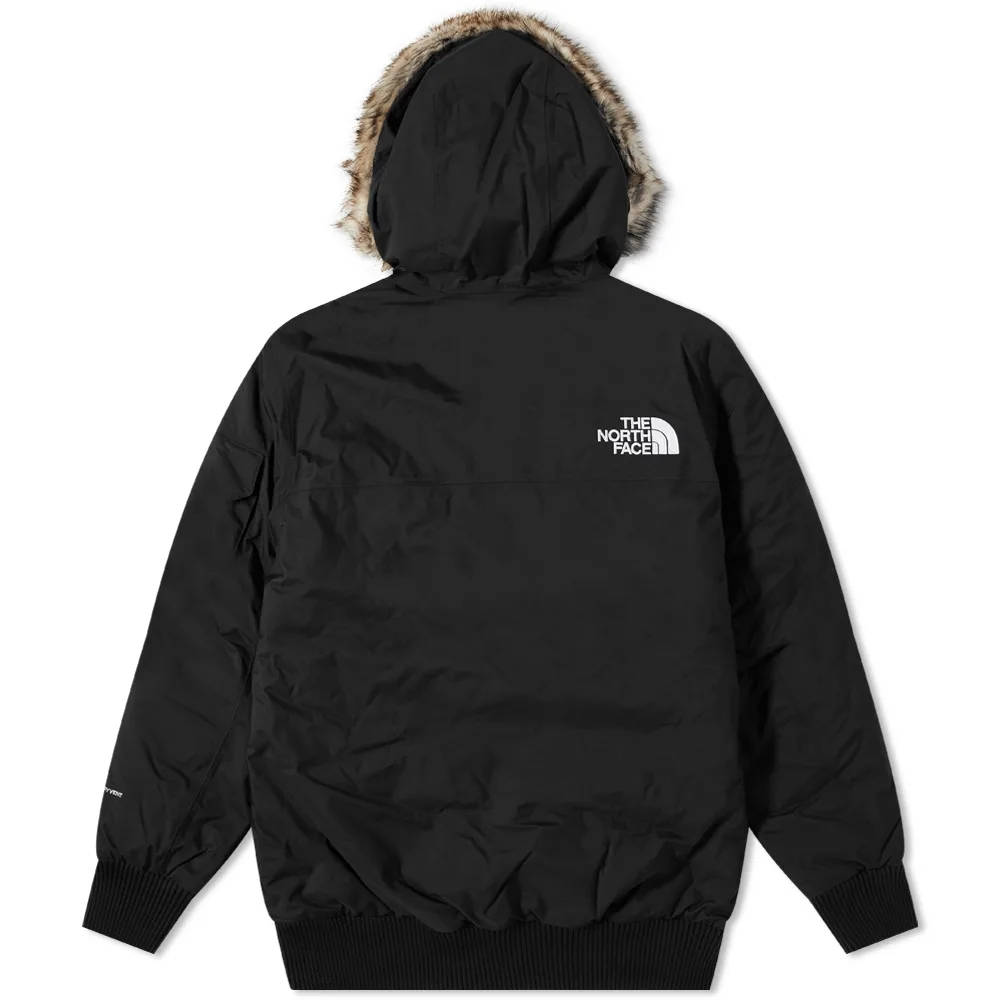 The North Face Recycled Gotham Jacket Black Back