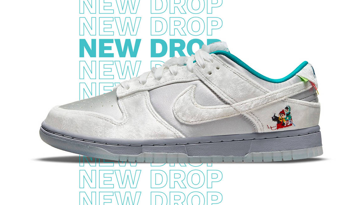 This Nike Dunk Low Is Full of Winter Wonderland-Inspired Details