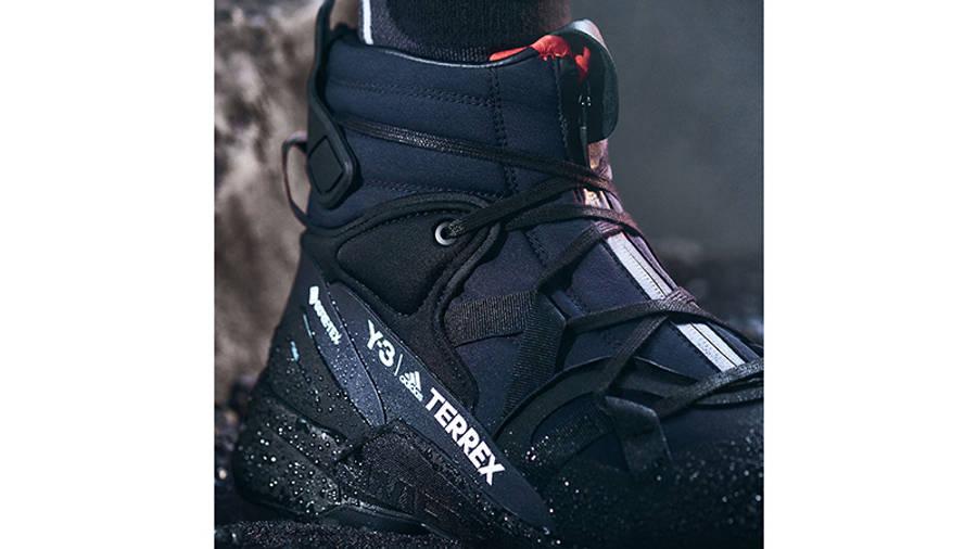 adidas Y-3 Terrex Swift R3 GTX Black Detail