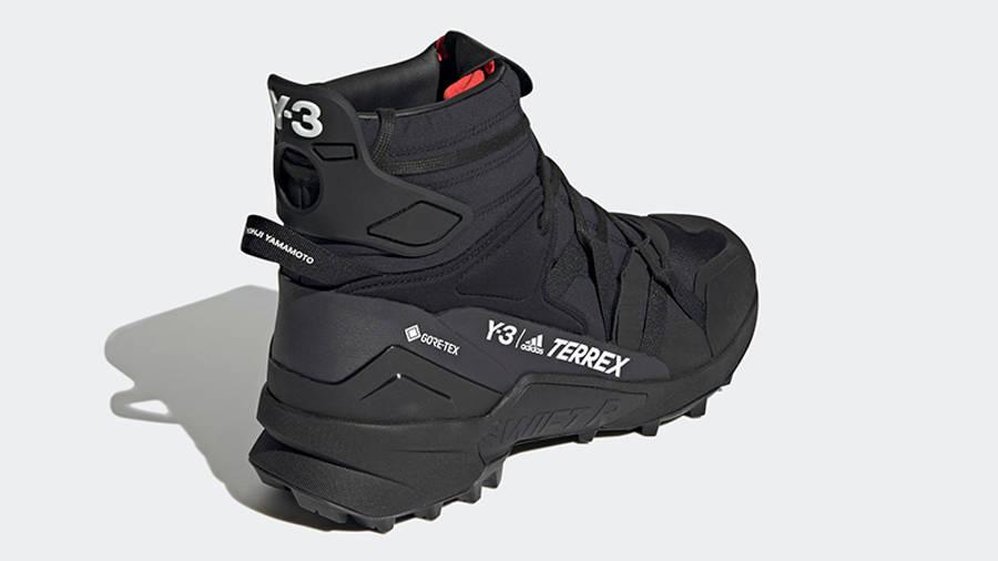 adidas Y-3 Terrex Swift R3 GTX Black GZ9167 Back