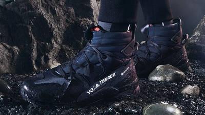 adidas Y-3 Terrex Swift R3 GTX Black Side