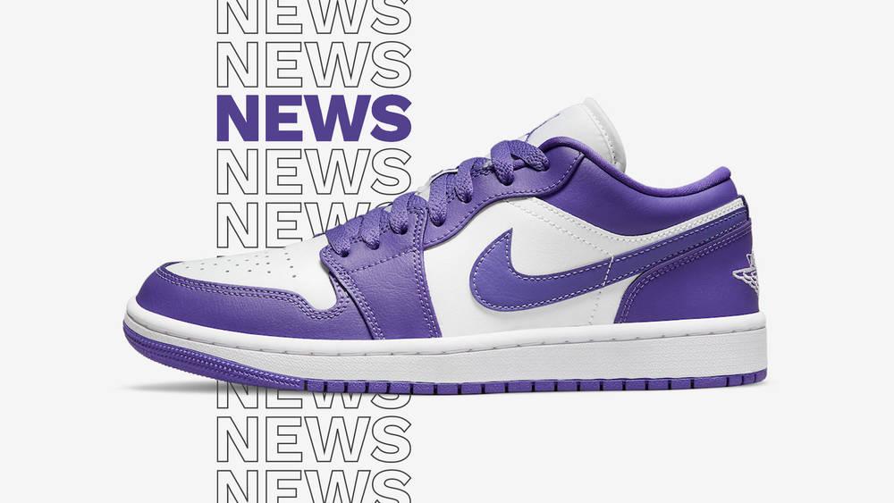 Air Jordan 1 Low Psychic Purple Release Date