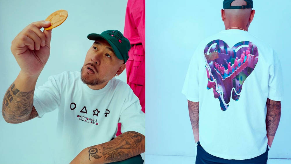 Give Your Fits the Green Light With This Emotionally Unavailable x Squid Game Collab