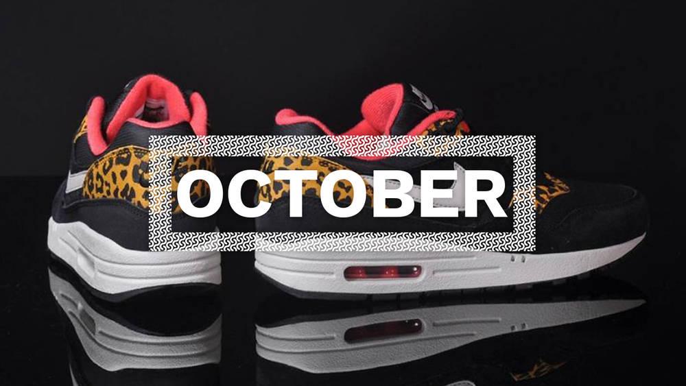 october sneaker releases