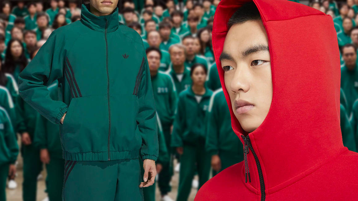 """Play """"Red Light, Green Light"""" With These Squid Game-Inspired Tracksuits"""