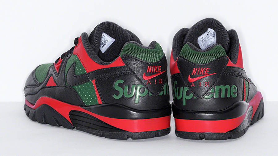 Supreme x Nike Cross Trainer Low Multi Black Back