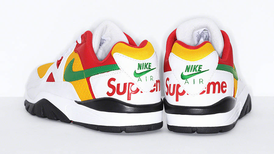 Supreme x Nike Cross Trainer Low Multi White Back