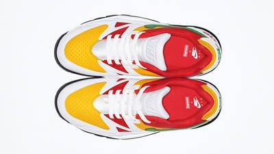 Supreme x Nike Cross Trainer Low Multi White Top